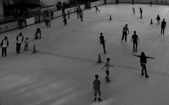 Half off Brooklyn NY indoor skating rink skate with friends family date