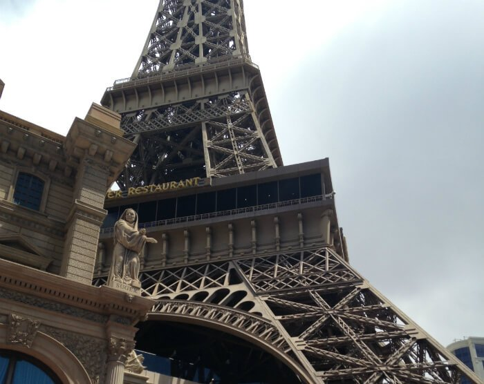 The Eiffel Tower, a monumental half-size replica of the French icon connected to the Paris Hotel and Casino on the Strip, offers views of glowing neon signs and the dancing fountains of the Bellagio from a windy observation deck, plus the opportunity to dine on the finest French cuisine Las Vegas has to unatleimag.tks: 1.