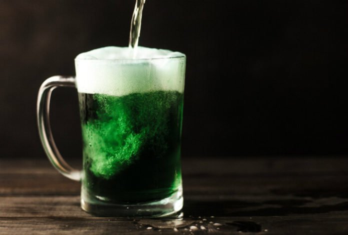 Providence Rhode Island St. Patrick's Day barhopping drink deal
