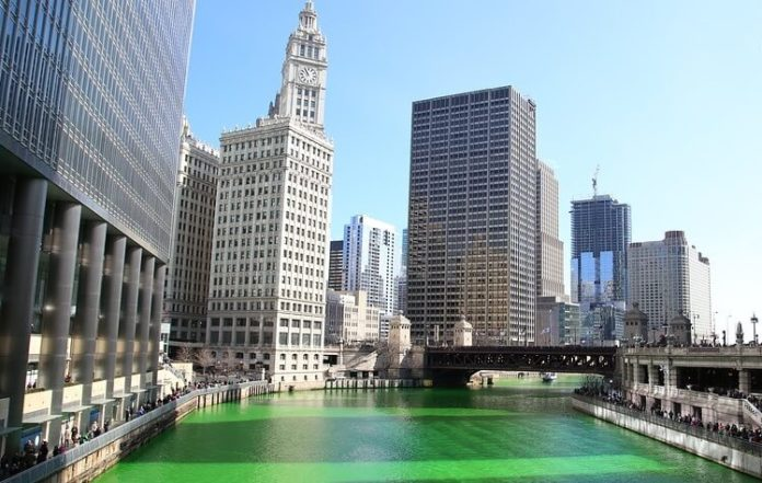 Chicago St. Patrick's Day what to do where to stay
