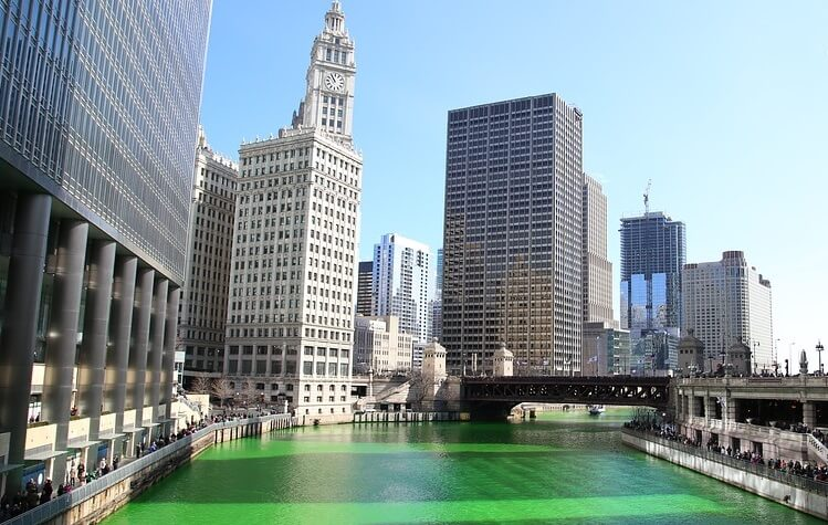 St patrick s day chicago what to do where to stay for Where to stay in chicago