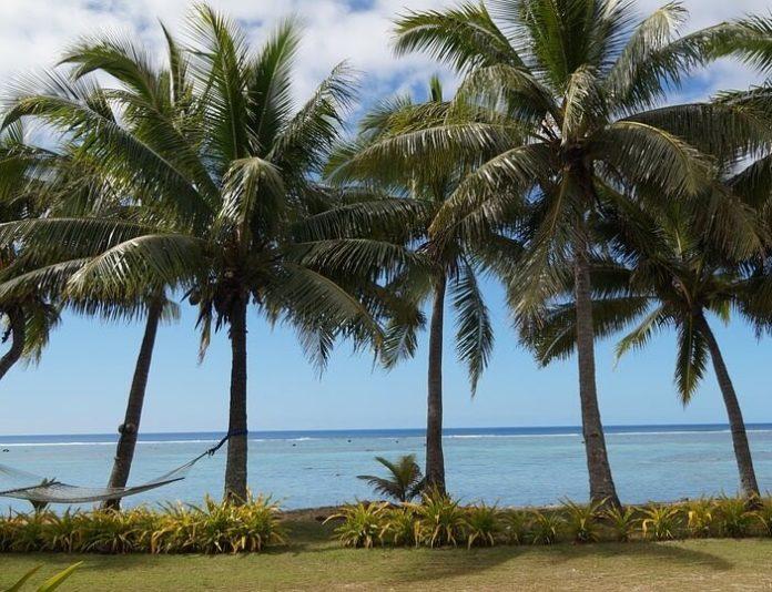 Cook Island romantic getaway sweepstakes beachfront bungalow flight from LA