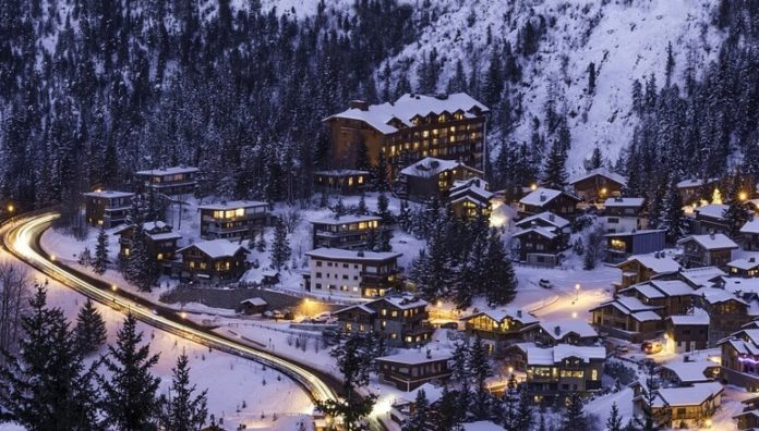 7 nights with halfboard flight from Newcastle stay at French Alps ski resort
