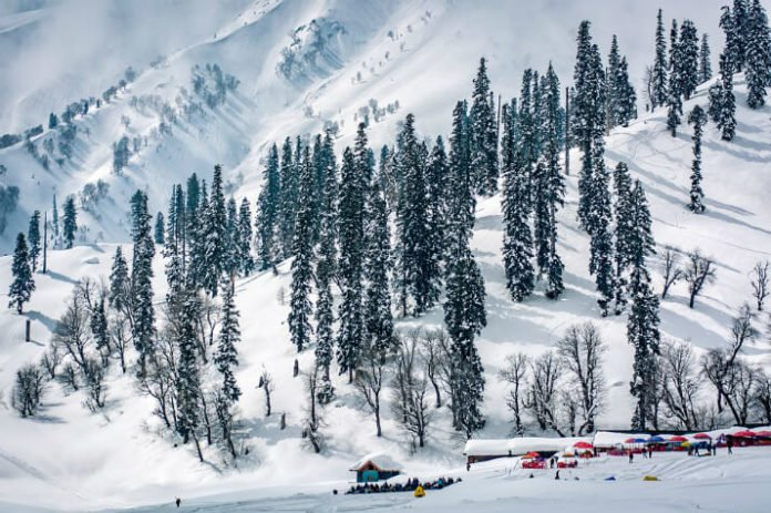 Best ski-in ski-out resorts in Gulmarg India