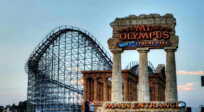 Mount Olympus theme park & water park resort stay up to 82% off free rides food & drink