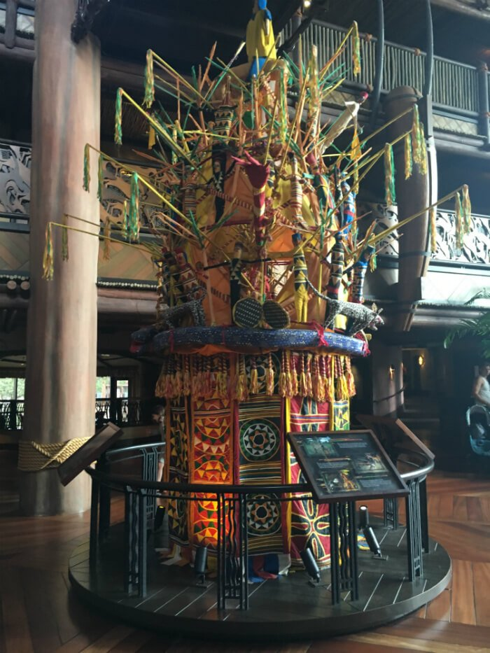 decor jambo house lobby animal kingdom lodge resort disney world