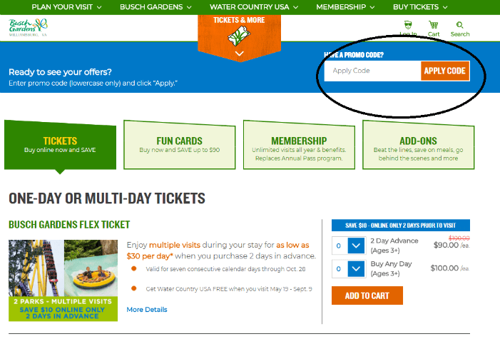 How to use a Papa's John promo code to save money at Busch Gardens Williamsburg