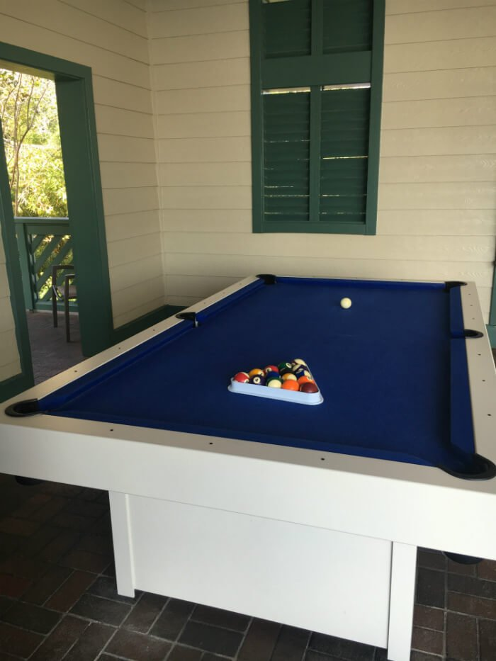 pool table Disney's Beach House Hilton Head Island South Carolina