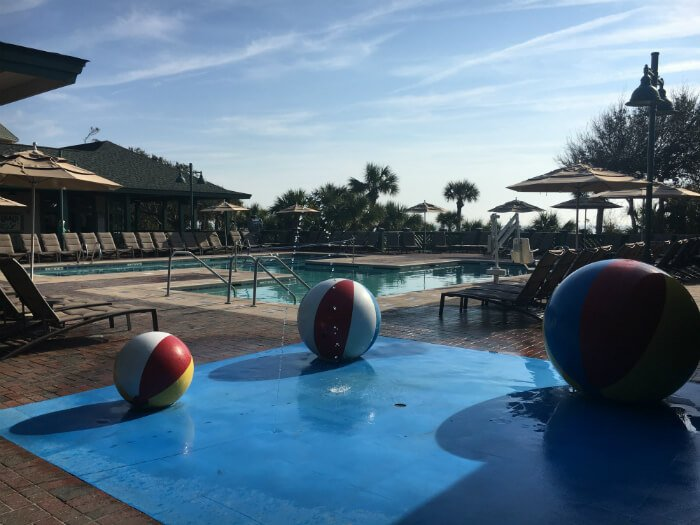 beach balls fountain hilton head south carolina disney resort beach house