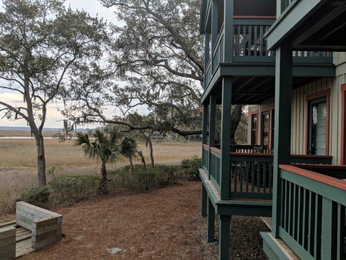 1 bedroom villa porch views disney hilton head island resort