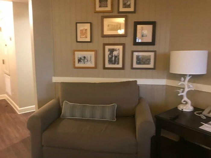 Disney's Hilton Head Island Resort one bedroom chair, pictures