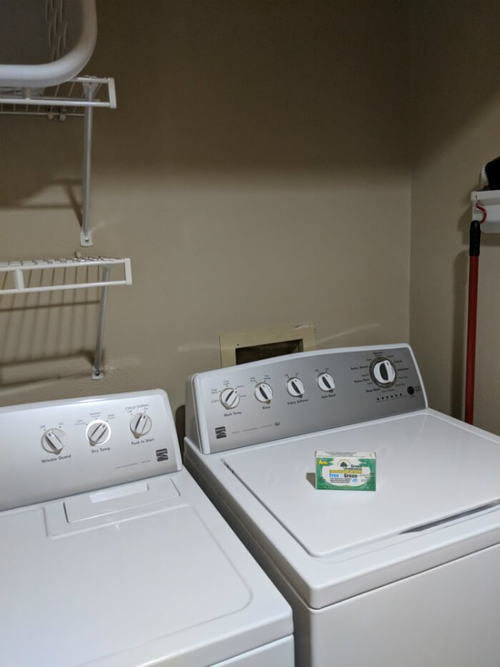 washer, dryer in 1 bedroom villa at Disney's Hilton Head Island Resort