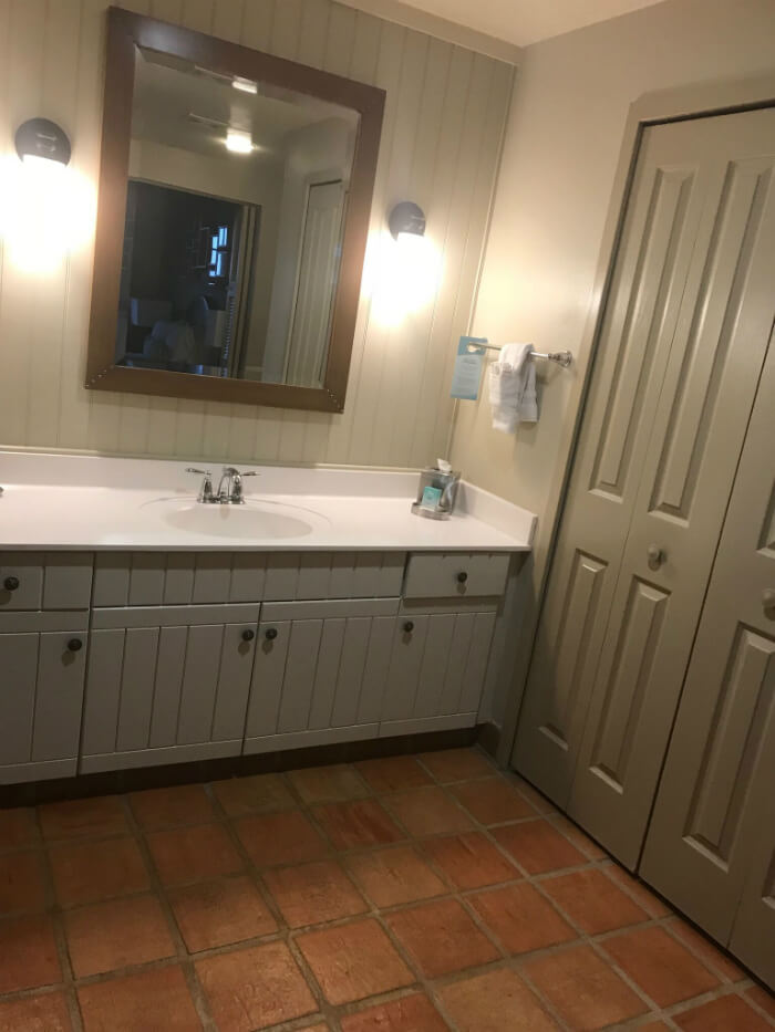 bathroom in 1 bedroom villa at Disney Hilton Head Island Resort hotel