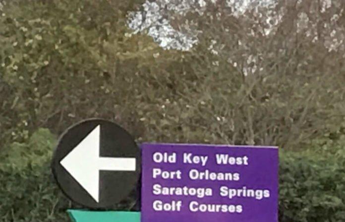 Old Key West golf course Disney World Orlando Florida