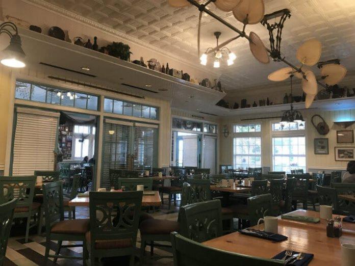 Olivia's Cafe Old Key West resort hotel Disney World