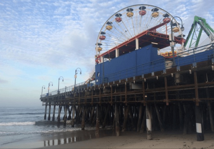 Discount price for ticket to Pacific Park at Santa Monica Pier SOuthern California