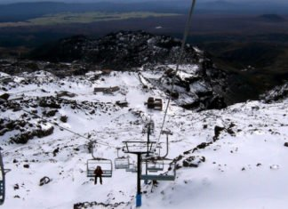 closest New Zealand hotels to Whakapapa Ski area Mount Ruapehu