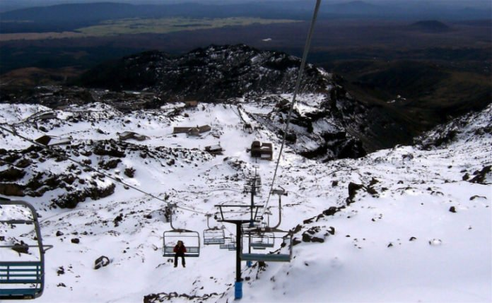 closest New Zealand hotels to Whakapapa Ski area Mount Ruapehu