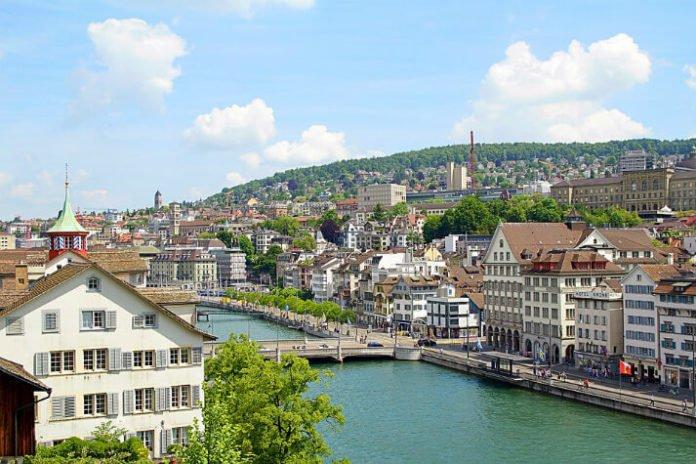 Cheap flights from New York City to Basel Lugano Geneva Zurich Switzerland