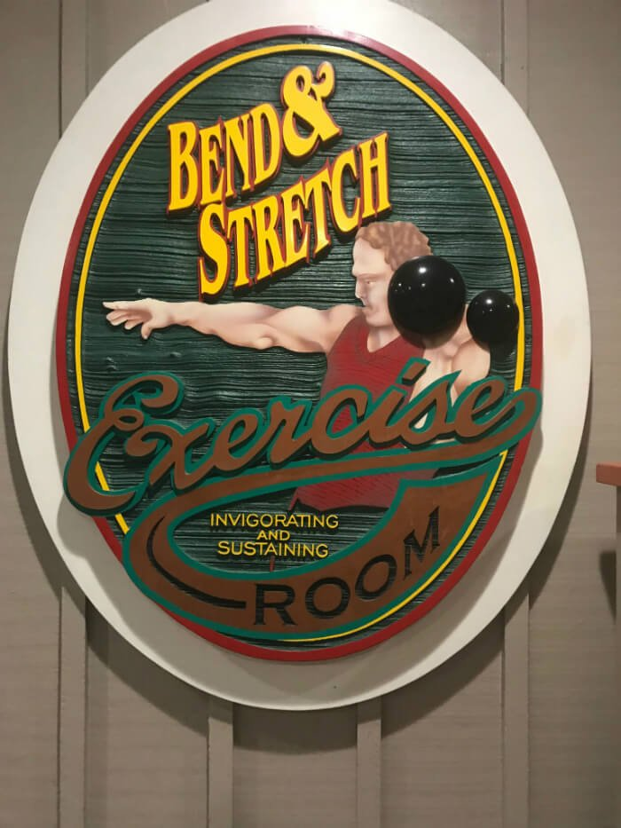 Bend & Stretch Exercise Room at Disney's Hilton Head Island Resort
