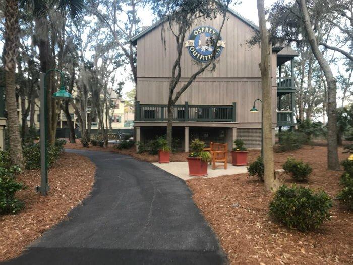 Disney's Hilton Head Island Resort outside shots on hotel grounds