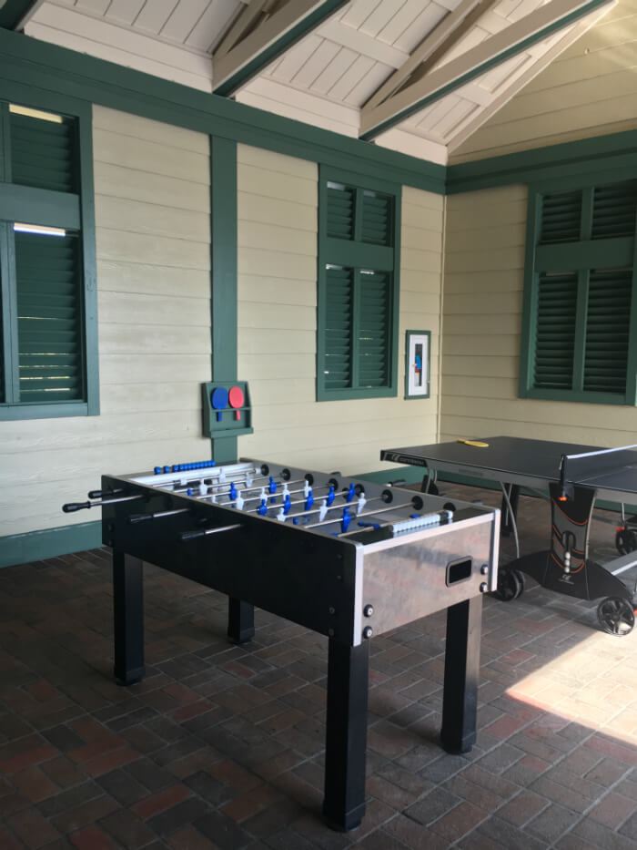 table tennis foosball Disney's Beach House Hilton Head Island Resort