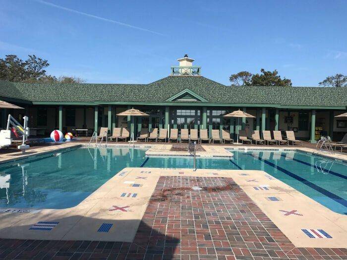 swimming pool Disney's Beach House Hilton Head Island South Carolina