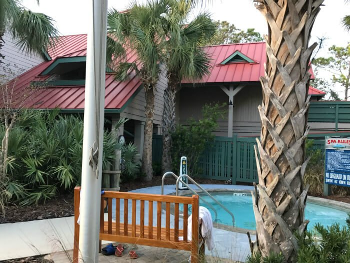 disney hilton head hot tub spa pool area south carolina