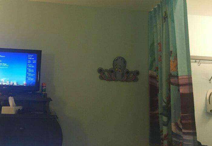 Disney's Art of Animation Little Mermaid room interior