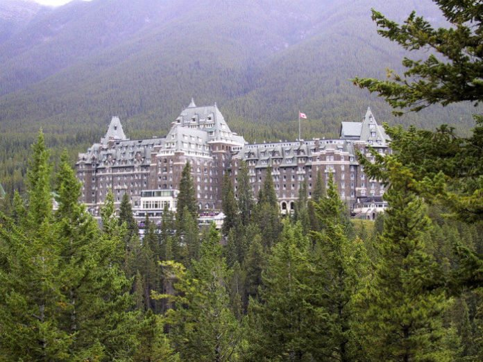 Fairmont Banff Springs one of Canada's grand railway hotel bed & breakfast deal