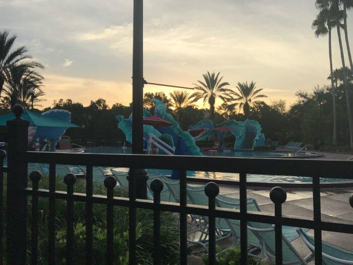 pool Port Orleans French Quarter Disney resort hotel
