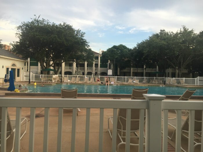 outdoor pool Disney's Port Orleans Riverside Resort hotel