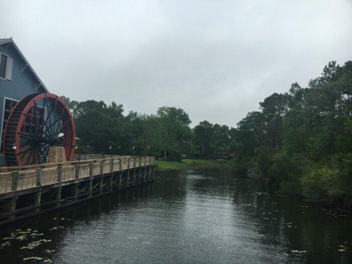 Disney's Port Orleans Riverside hotel river