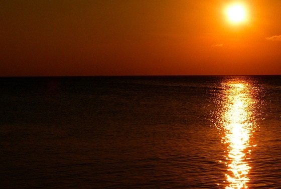 Reggae Sunset Caribbean Sea Montego Bay Jamaica discount price