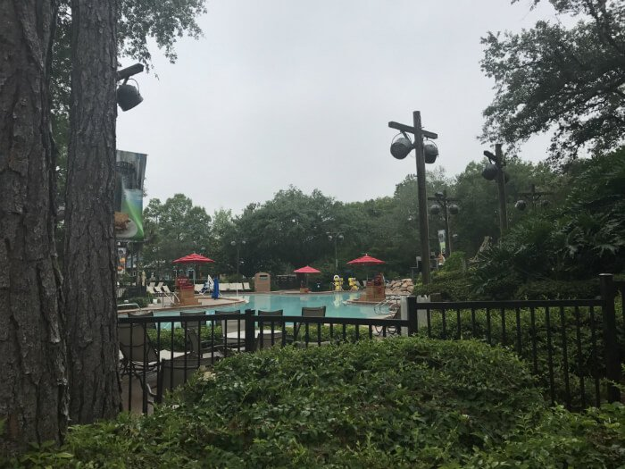 swimming pool at Port Orleans Riverside Disney World hotel