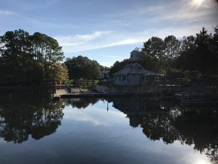 Port Orleans Riverside river view Disney World hotel