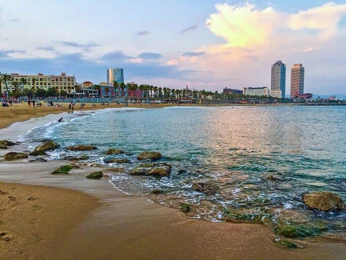 Barcelpna Spain 4-star hotels under $100/night budget travel deal