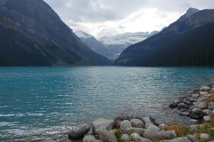 Win a flight to Calgary take waterfalls glacier horseback riding in Banff