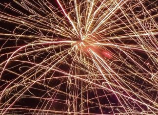 Enjoy 4th of July fireworks at family friendly Sesame Place theme park near Philly