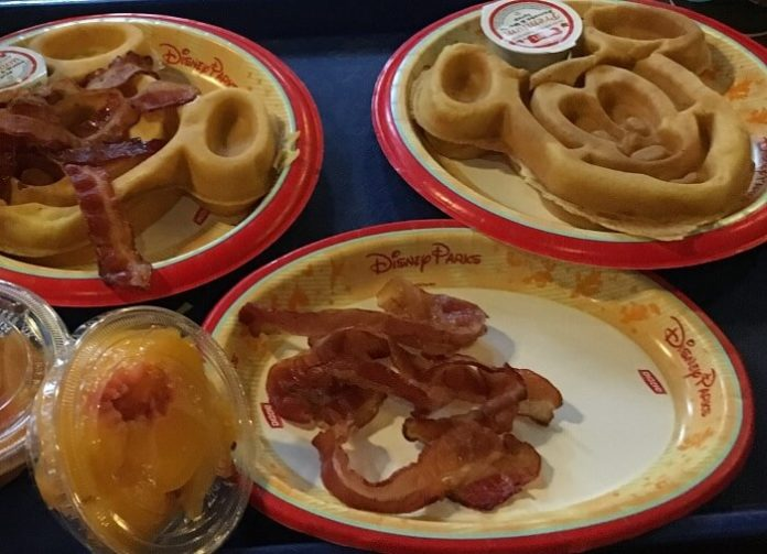Free quick service breakfast with stay at Disney value resort