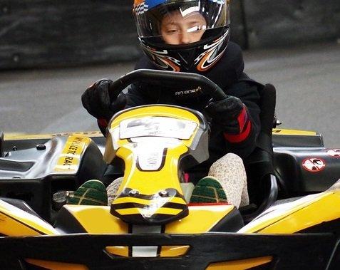 Save on NASCAR indoor kart racing in Orlando Florida