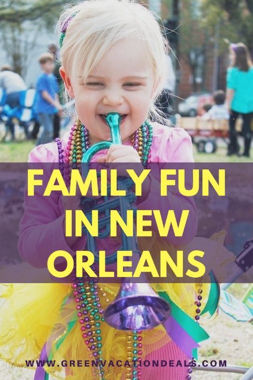 New Orleans Family Fun Travel Ideas. Kid friendly activities in NOLA.