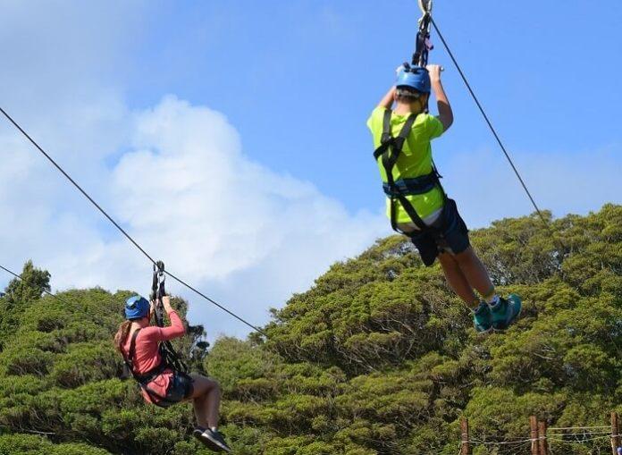 Discount price for ziplining in Pepeeko, Hawaii