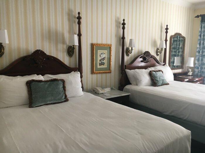 Beautiful hotel stay at Walt Disney WOrld in Orlando Florida at Boardwalk hotel