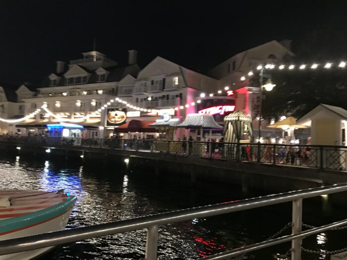 Boat transportation to Hollywood Studios from Disney's Boardwalk Inn