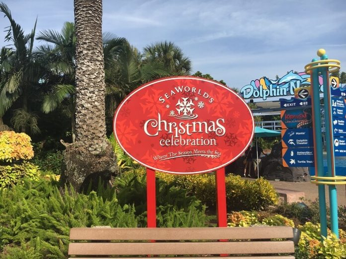 Get free night hotel & unlimited SeaWorld Orlando visits with Christmas package