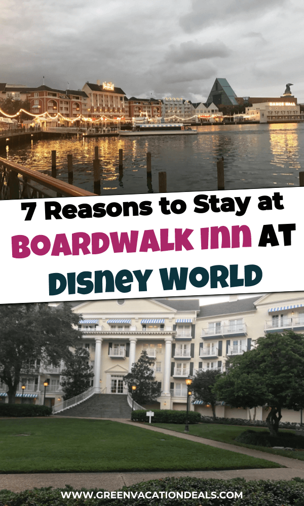 Find out why you should choose Disney's Boardwalk Inn at Walt Disney World in Orlando, Florida for your next Disney World trip. Find out which parks are within walking distance, their dining options, see pictures of the room, lobby & pool, etc.