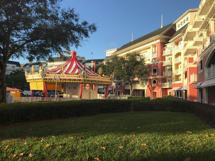 Poolside bar at Disney's Boardwalk Inn at WDW Orlando FL