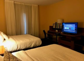 Win a free hotel stay at Fairfield Inn & Suites