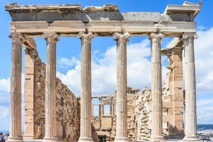 Athens Greece tour see Temple of Zeus, Acropolis & Parthenon